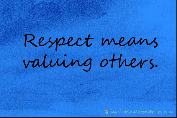 respect others teachers women
